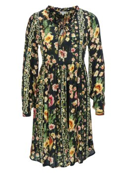 Frogbox Damen Dress flower geometric