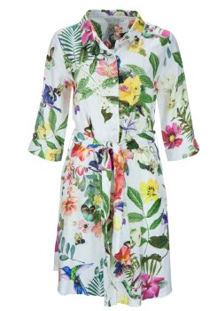 Frogbox Damen Dress with flower allover