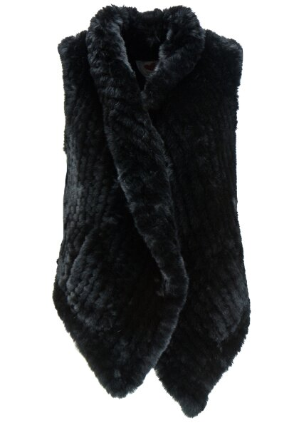 Frogbox Damen Fake fur vest