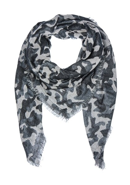 Camouflage glamour scarf