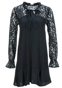 Frogbox Damen Kleid lace patch