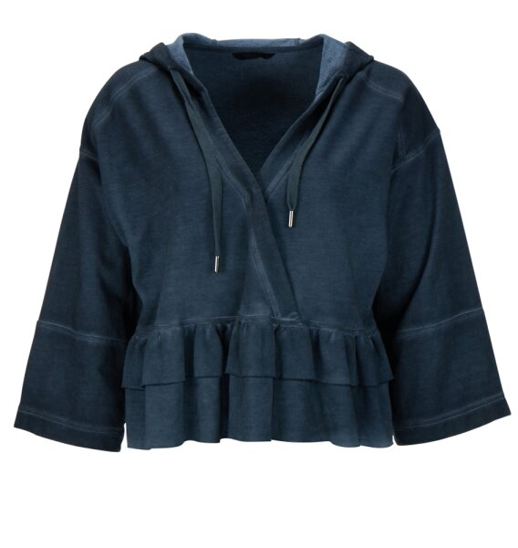 Princess goes Hollywood Hoody dirty oil washed anthra melange XL