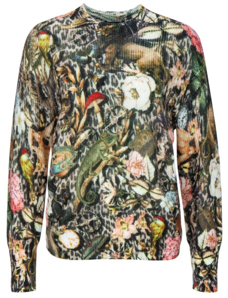 Princess goes Hollywood Pullover fairytale-leo print Stehkragen