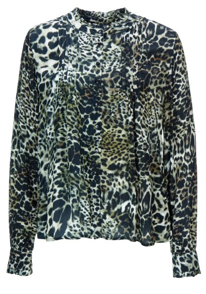 Princess goes Hollywood leo ruches blouse